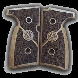KAHR MK9 Handgun Grips Walnut