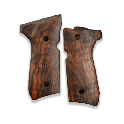 Beretta 92FS 96 98 M9 Model Compatible Root Walnut Grip for Replacement