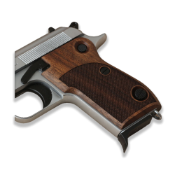 Beretta M1951 Model Compatible Walnut Grip for Replacement (with Half Pattern)