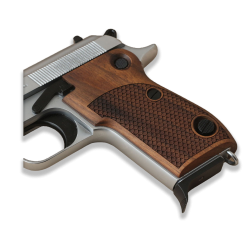 Beretta M1951 Model Compatible Walnut Grip for Replacement (with Python Pattern)
