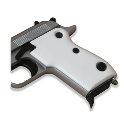Beretta M1951 Model Compatible Ivory Acrylic Grip for Replacement