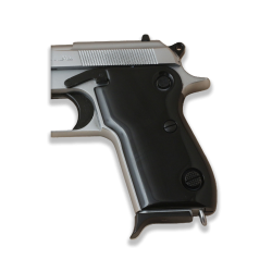 Beretta M1951 Model Compatible Black Acrylic Grip for Replacement