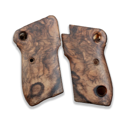 Beretta M1951 Model Compatible Root Walnut Grip for Replacement