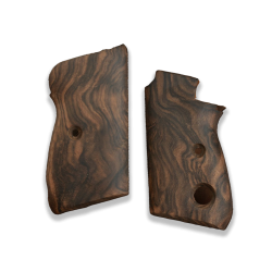 Beretta Mod 70 - 70S - 71 Puma Model Compatible Root Walnut Grip for Replacement