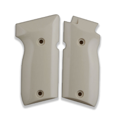 Astra A75 Model Compatible Ivory Acrylic Grip for Replacement