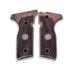 Beretta Stoeger Cougar 8000 8040 8357 model Compatible Walnut Grip for Replacement