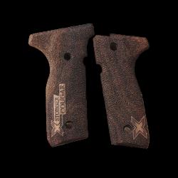 Beretta Stoeger cougar 8000 8040 8357 Model Compatible Grip Walnut