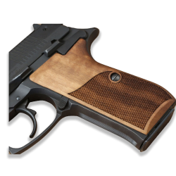 Bernardelli Practical VB Model Compatible Walnut Grip for Replacement (with Diamond Checkered Pattern)