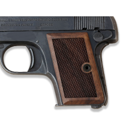 Browning 6,35 Model Compatible Walnut Grip for Replacement