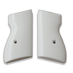 Browning 7,65 SLP 1 Model Compatible White Acrylic Grip for Replacement