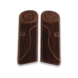 Browning FN 1922 model Compatible Walnut Grip for Replacement with Half Pattern