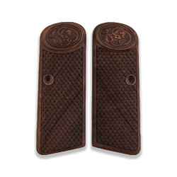 Browning FN 1922 Model Compatible Walnut Grip for Replacement with Python Pattern