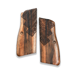 Browning HP Model Compatible Walnut Grip for Replacement