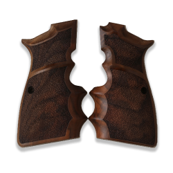 Browning HP High Power model Compatible Walnut Grip for Replacement