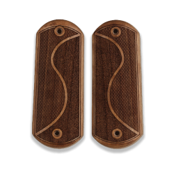 Colt 1900 / 1902 /1903 Pocket Model Compatible Walnut Grip for Replacement, with Half Pattern