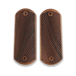 Colt 1900 / 1902 /1903 Pocket Model Compatible Walnut Grip for Replacement, with Python Pattern