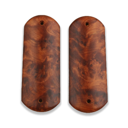 Colt 1900 / 1902 /1903 Pocket Model Compatible Thuya Burl Grip for Replacement