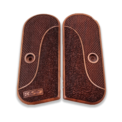 Colt 1903 / 1908 Hammerless Model Compatible Walnut Grip for Replacement with Half Pattern