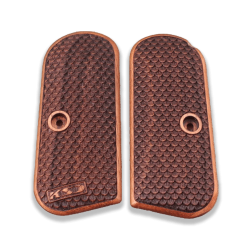 Colt 1903 / 1908 Hammerless Model Comptible Walnut Grip for Replacement, with Python Pattern