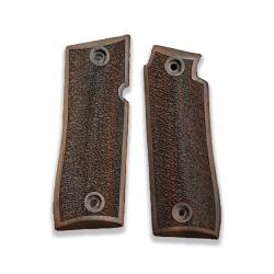 Colt Goverment 380 / Mustang Plus II Model Compatible Walnut Grip for Replacement