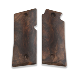 Colt Mustang Pocketlite Model Compatible  Root Walnut Grip for Replacement