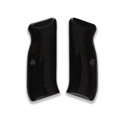CZ 75 85 Model Compatible Black Acrylic Grip for Replacement