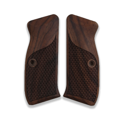 CZ 75 85 Model Compatible Walnut Grip for Replacement