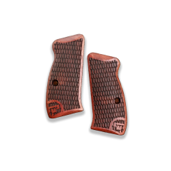 CZ 75 Compact / P01 / 40P Model Compatible Rosewood Grip for Replacement