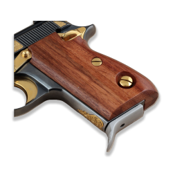 Beretta 70 70S 71 Puma Compatible Walnut Grip for Replacement (Thumb style safety) Walnut