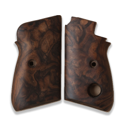 Beretta 70 70S 71 Puma models Compatible Root Walnut Grip for Replacement (Thumb style safety)