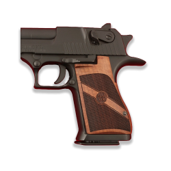 Desert Eagle Compatible Walnut Grip for Replacement