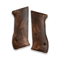 Jericho 941 F/FS Model Compatible Deluxe Selected (Root Walnut) Grip for Replacement