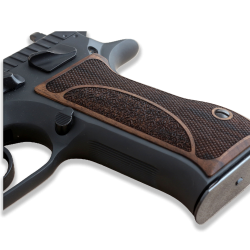 Jericho 941 F FS Baby Eagle Model Compatible Walnut Grip for Replacement (9mm and .41)