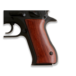 Jericho 941 F FS Baby Eagle model Compatible Rosewood Grip for Replacement (9mm and .41)