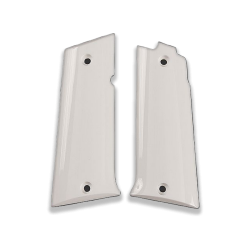 LLama 45.Acp Model Compatible White Acrylic Grip for Replacement