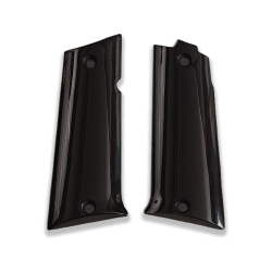 LLama 45.Acp Model Compatible Black Acrylic Grip for Replacement