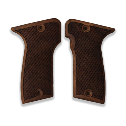 MAB D Model Compatible Walnut Grip for Replacement, with Python Pattern