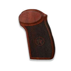 Makarov PM / PPM / PMM Model Compatible Rosewood Grip for Replacement