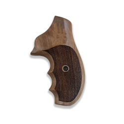Ruger SP 101 Model Compatible Walnut Grip for Replacement