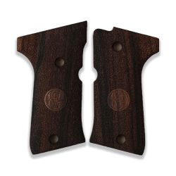 Beretta 92 Compact Model Compatible Walnut Grip for Replacement