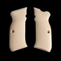 Sarsılmaz B6 Hawk model Compatible Ivory Acrylic Grip for Replacement