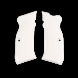 Sarsılmaz B6 Hawk Model Compatible White Acrylic Grip for Replacement