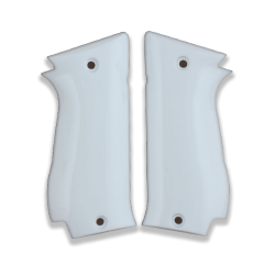 Sarsılmaz K2 45 Model Compatible White Acrylic Grip for Replacement