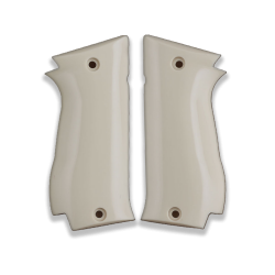 Sarsılmaz K2 45 model Compatible Ivory Acrylic Grip for Replacement
