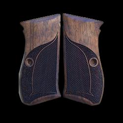 Sarsılmaz ST10 Model Compatible Walnut Grip for Replacement