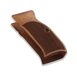 Sarsılmaz K240 Model Compatible Walnut Grip for Replacement (with Diamond Checkered Pattern)