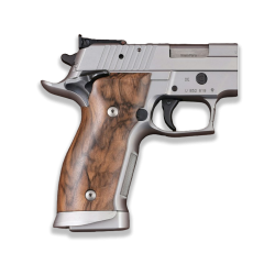 Sig Sauer P226 SAO / X-Five / X-Six Model Compatible Root Walnut Grip for Replacement