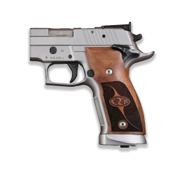 Sig Sauer P226 SAO / X-Five / X-Six Model Compatible Walnut Grip for Replacement (with Half Pattern)