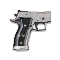 Sig Sauer P226 SAO / X-Five / X-Six Black Acrylic, Silver Grip for Replacement