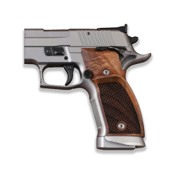 Sig Sauer P226 SAO / X-Five / X-Six Model Compatible Walnut Grip for Replacement (with Python Pattern)